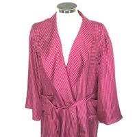 de347471fd Silk Dressing Gown – Polka Dot Wine