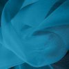 Silk Chiffon - Kingfisher Blue (Dyed To Order)