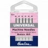 Sewing Machine Needles: Universal: Extra Fine - Size 60/8: 6 Pieces